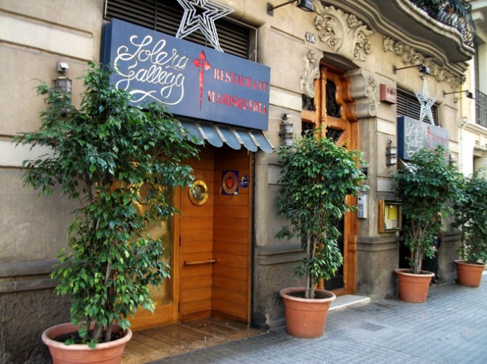 Solera gallega restaurante barcelona opini n miquel sen - Restaurante solera gallega ...